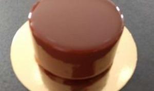 Glaçage chocolat au lait
