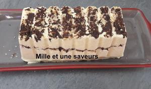 Semifreddo chocolat vanille