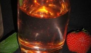 Eau aromatisée fraise et menthe