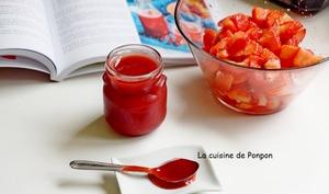 Sirop de fraise à la badiane, vegan