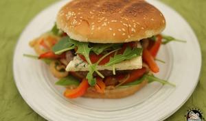Burger bœuf Saint Agur