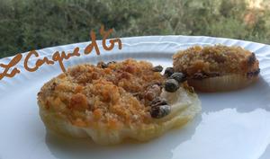 Oignons de Giarratana gratinés au four