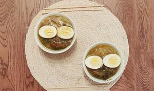Soupe asiatique façon Rāmen