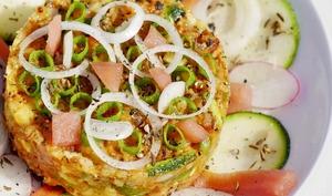 Tartare alcalin de fruits et légumes cuits et crus