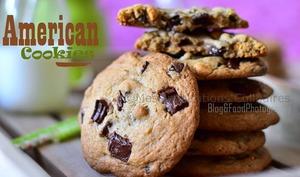 Cookies américaine moelleux