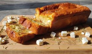 Cake feta-figues et romarin