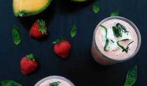 Gaspacho melon fraise