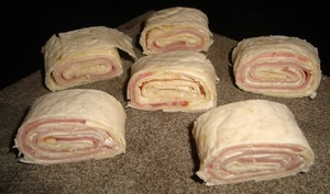 Wraps bacon et kiri