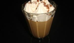Crème dessert café liégeois