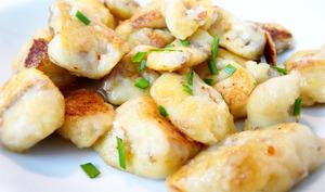 Gnocchis de l'ile de Ré aux langoustines