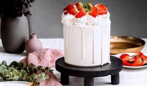 Layer cake Fraisier