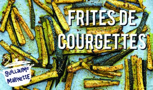 FRITES de COURGETTE HEALTHY et VEGAN