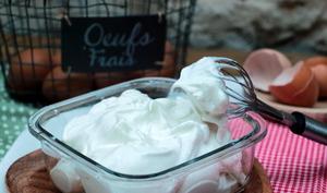 Meringue italienne pour glaces et sorbets