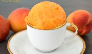 Sorbet à l'abricot et amande amère