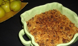 Crumble de cookies aux fruits