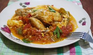 Chakchouka au poulet ou à la viande