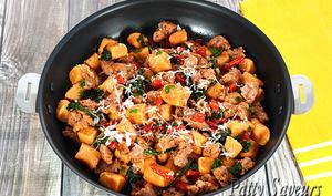 Gnocchi de Patate Douce et Saucisse Italienne