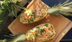 Salade hawaïenne facile et rapide