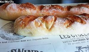 Baguettes de pain sans gluten