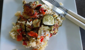 Tiella de riz aux moules de Jamie Oliver