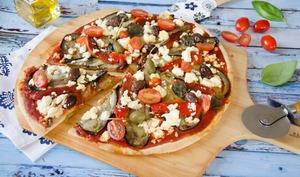 Pizza à la grecque