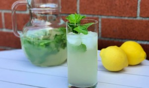 Limonade citron, lime et menthe