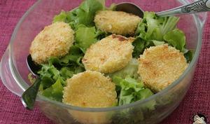 Salade de chèvre doré