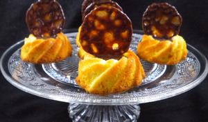 Petits gâteaux au cœur coulant de Carambar