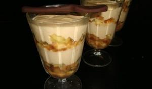 Tiramisu breton aux pommes et au caramel au beurre salé