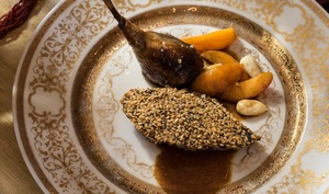 El Hamam del aroussa, pigeon aux abricots