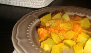 Courgettes aux épices indiennes
