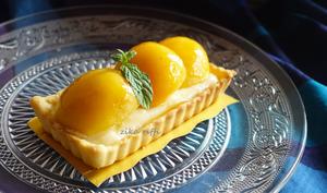 Tartelettes aux abricots et crème aux noix de cajou