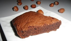 Moelleux chocolat noisette