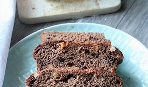 Brioche au cacao, pépites de chocolat et oranges confites