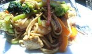 Chow Mein à la Cantonaise