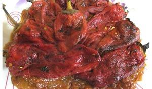 Poivrons grillés sauce tomates