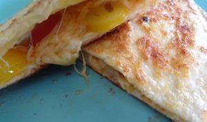 Wrap aux tomates cerises et fromage pour nachos