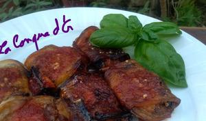 Roulés d'aubergines à la sicilienne