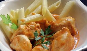 Filets de poulet au paprika et au yaourt