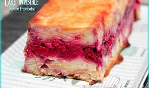 Cake invisible pomme framboise