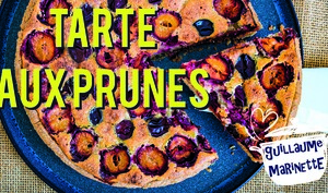 Tarte aux prunes, recette facile et rapide