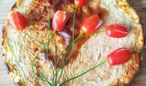 Cheesecake salé à la tomate séchée
