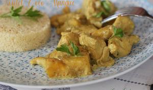 Poulet coco mangue