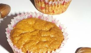 Muffins à la vanille et au cœur Nutella