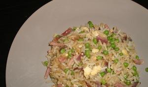 Riz frit à la cantonaise