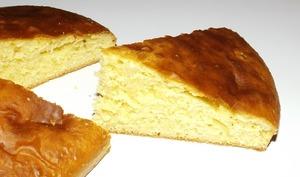 Gâteau aux jaunes d'œufs et à la vanille