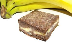 Fondant au chocolat et aux bananes