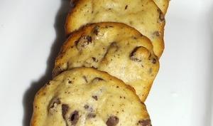 Cookies banane chocolat et vanille