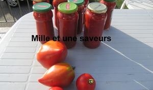 Comment stériliser de la sauce tomate