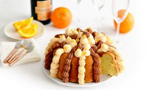 Le Gâteau de Savoie au Grand Marnier et Chocolat